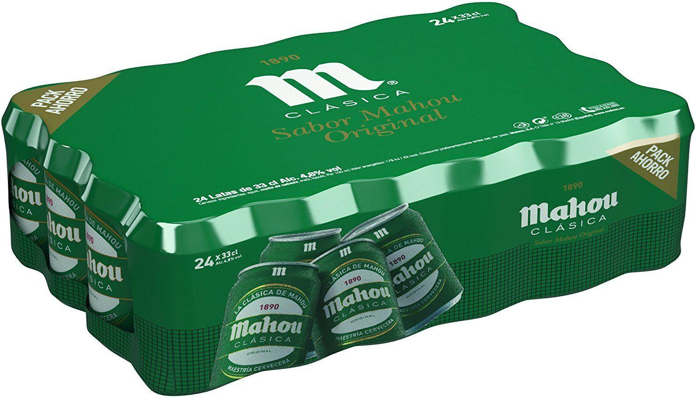 24 latas de cerveza por 9 y pico