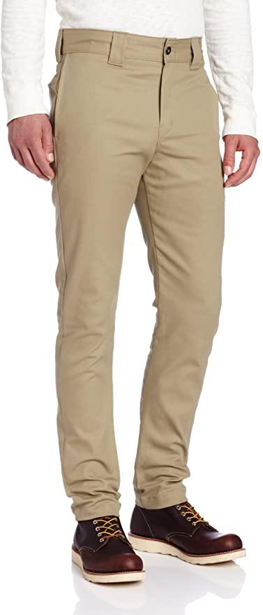 Dickies Wp810, pantalones de trabajo y casual para hombre, talla 29/34, en marrón claro.