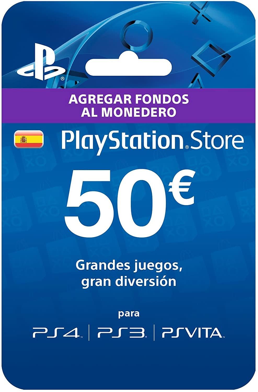50€ para PS Store