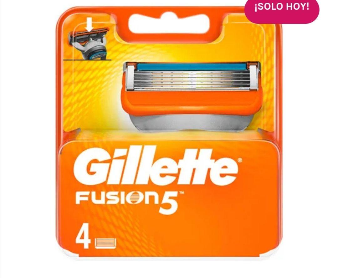 Gillette fusión 5