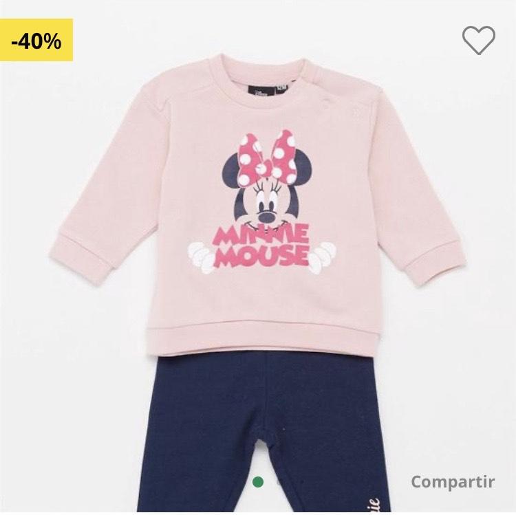 Chándal Minnie bebé