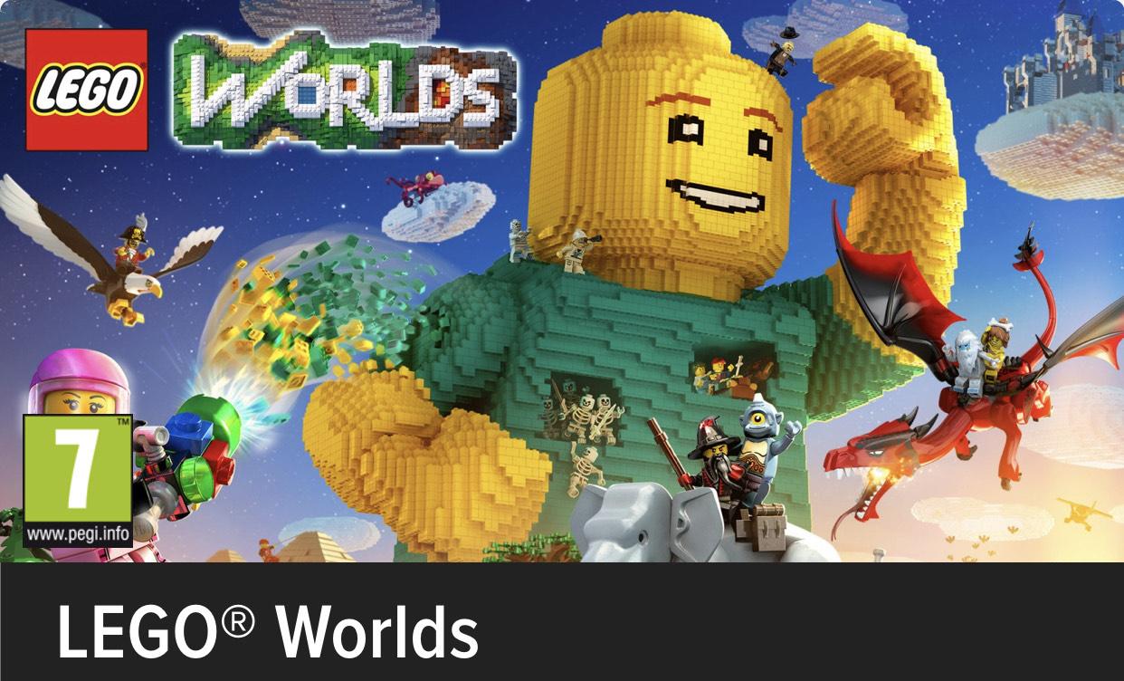 Lego Worlds Nintendo. Eshop Rusa