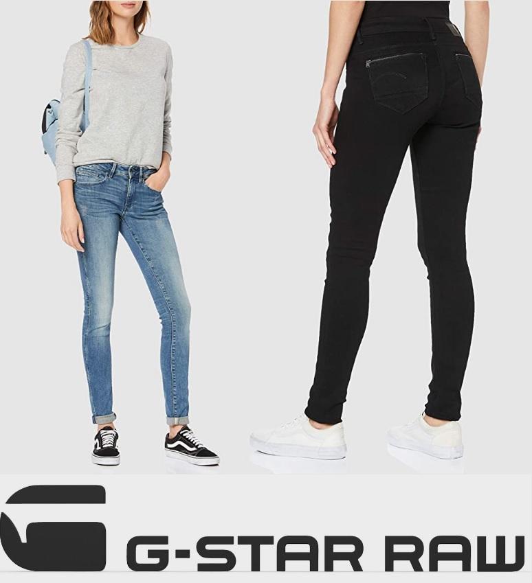 G-STAR RAW Vaqueros Skinny (a partir de 7,74€, colores/tallas/precios)
