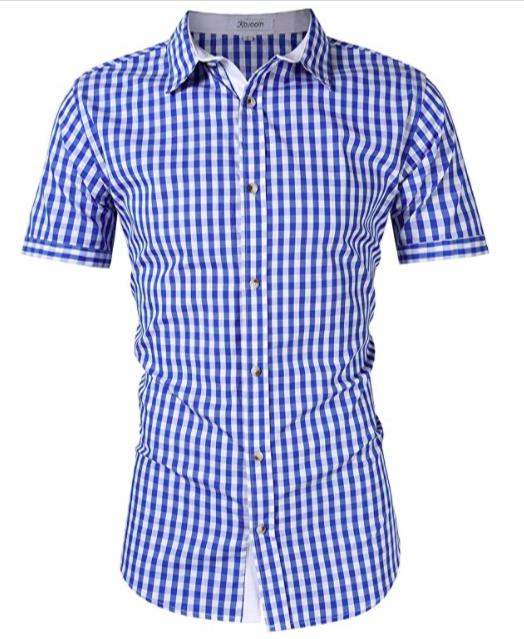 Camisa de cuadros 100% algodón para chicos (varios colores)