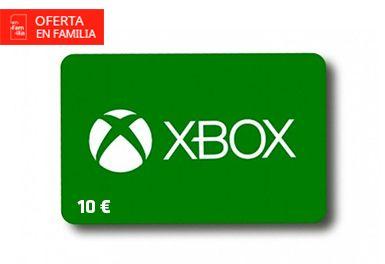 Tarjeta de 10€ xbox por 5€ (clientes mapfre)