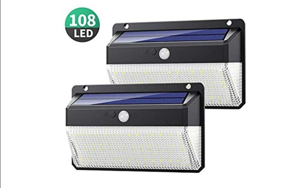 Yacikos Luz Solar Exterior 108 LED