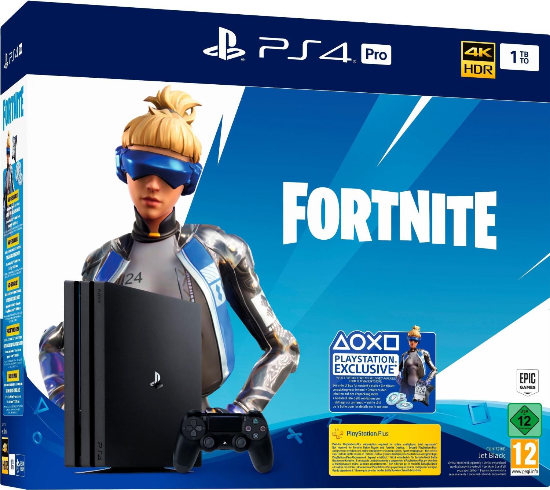 Consola - PS4 Pro 1 TB + Voucher Fortnite