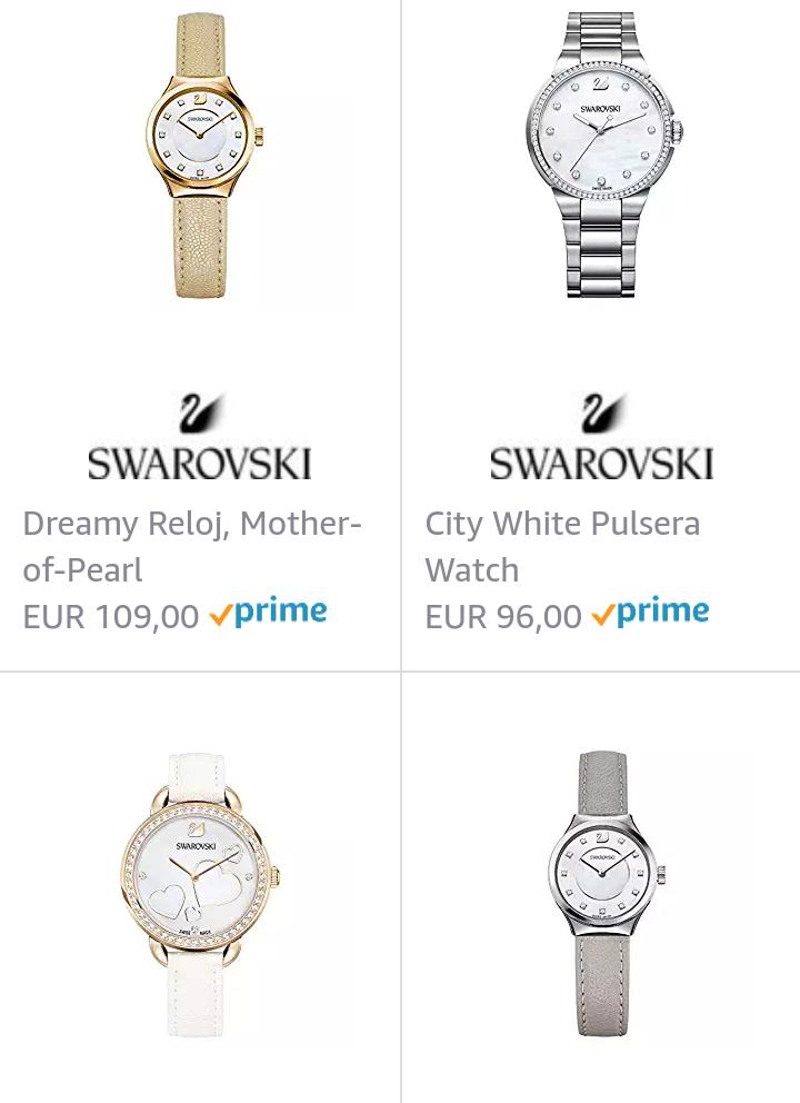 Swarovski relojes al 50%