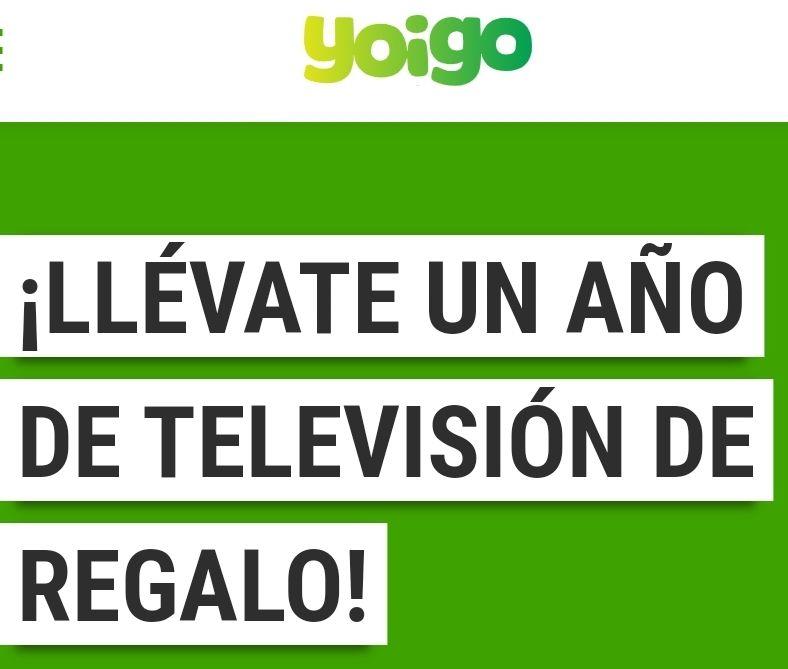 Yoigo regala 1 año de Angile TV (contenido de Rakuten) y TDT enriquecida