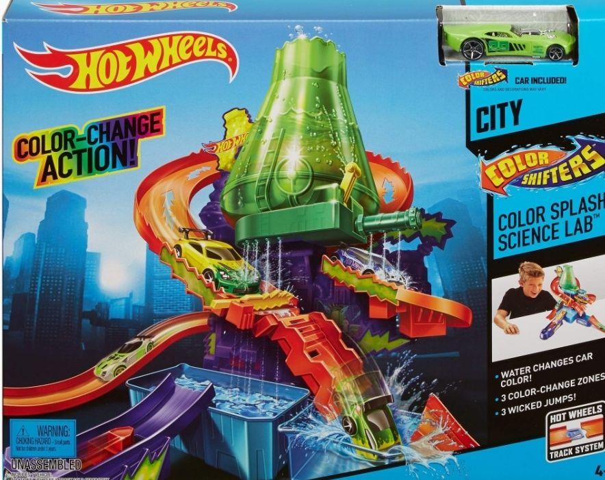 Hot Wheels Disney Pista Color Shifters, 38 x 30 cm (Mattel CCP76)