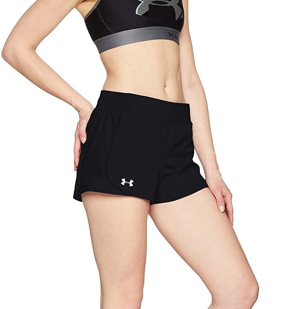Under Armour UA Speedpocket Run Short - Pantalón Corto Mujer talla S.