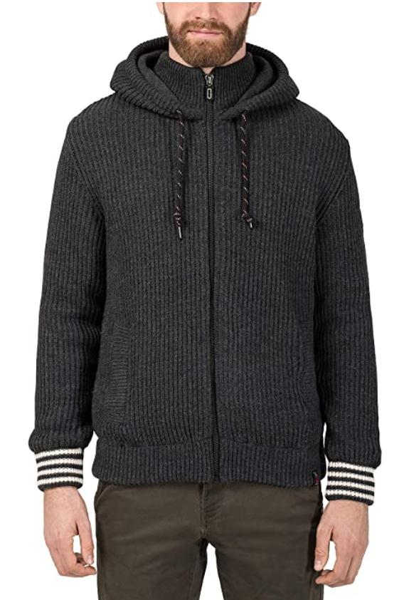 TALLA M - Timezone College Hoodie Jacket Chaqueta para Hombre