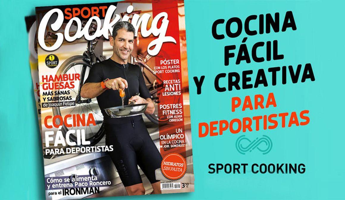 LAST DAY GRATIS LIBRO SPORT COOKING..revista cocina, deporte y vida saludable.Paco Roncero.
