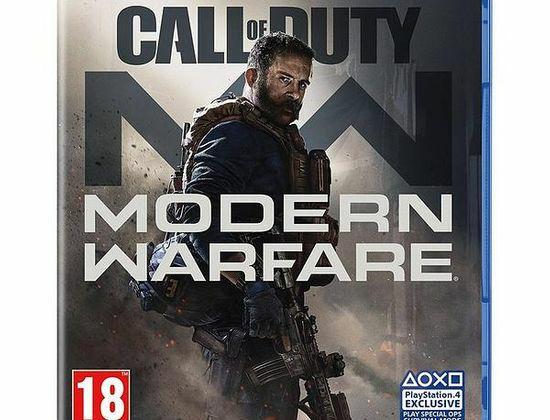 Call of duty modern warfare ps4 de 2a mano