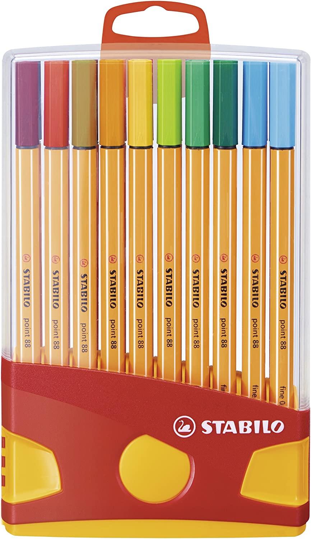 Rotulador punta fina STABILO - Estuche premium Colorparade con 20 colores