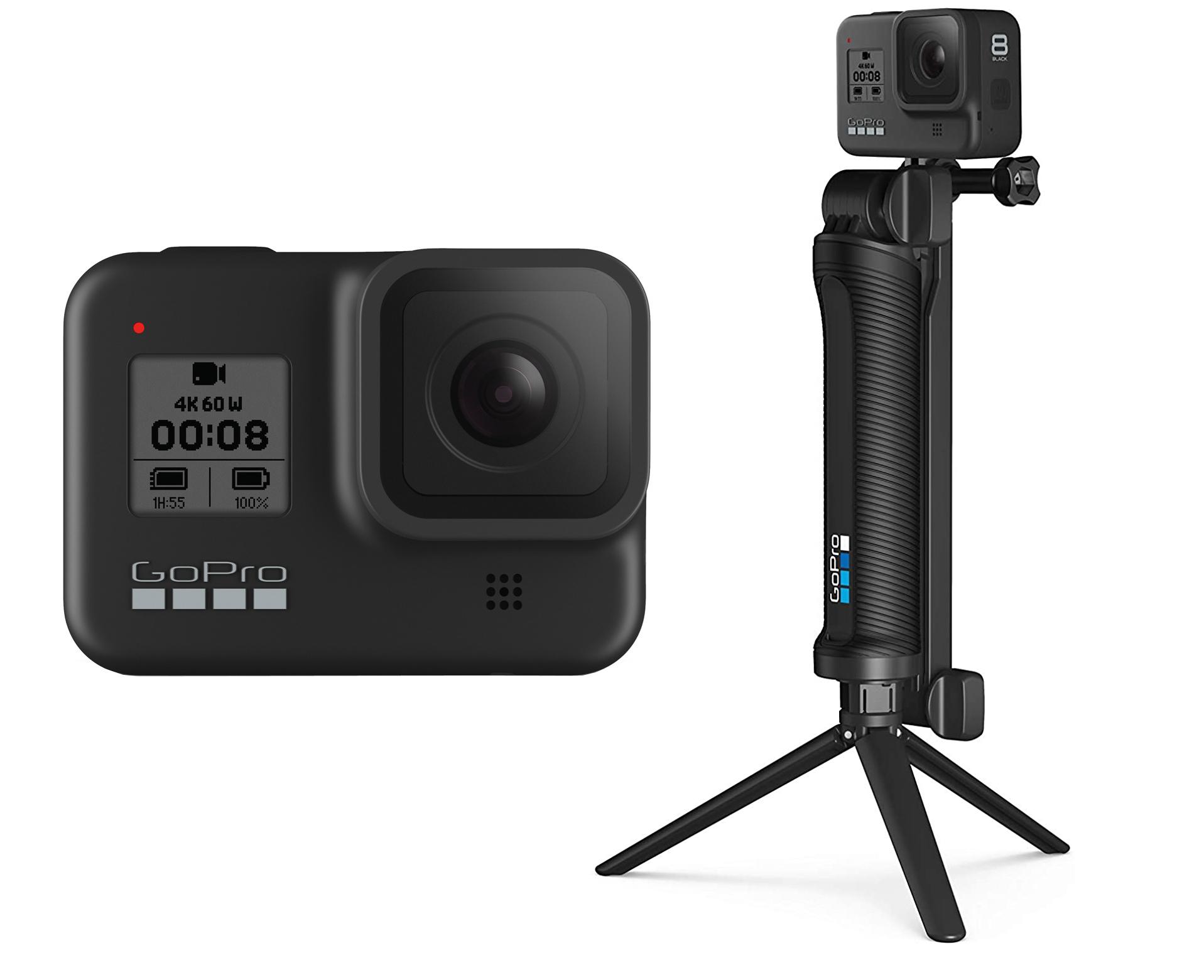 GoPro Hero 8 +Soporte 3 en 1 solo 314€
