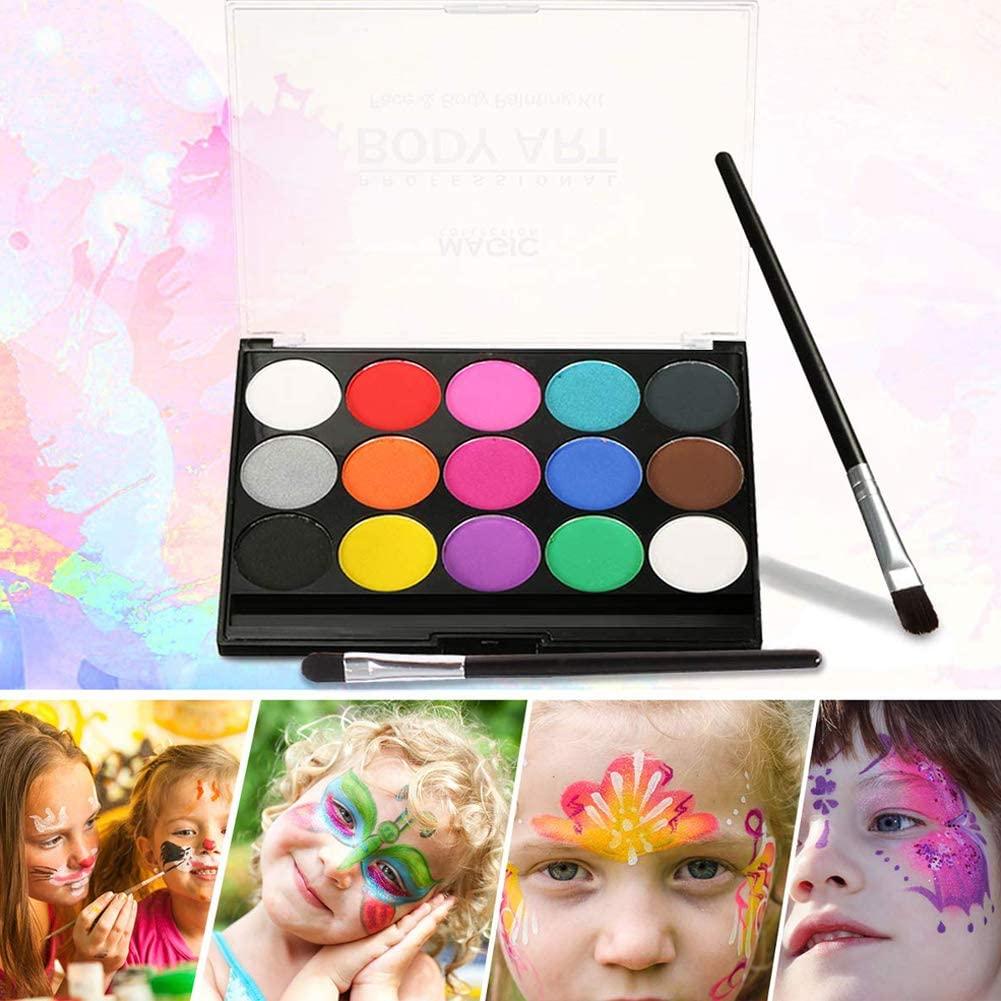 Pintura de cara para niños (de calidad) y con plantillas