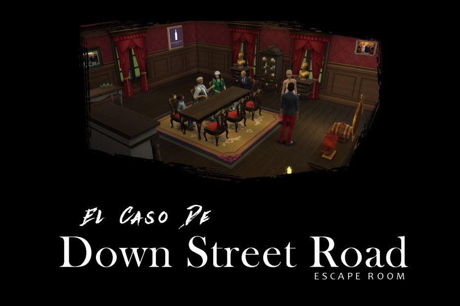 ESCAPE ROOM GRATIS (El caso de Down street Road).