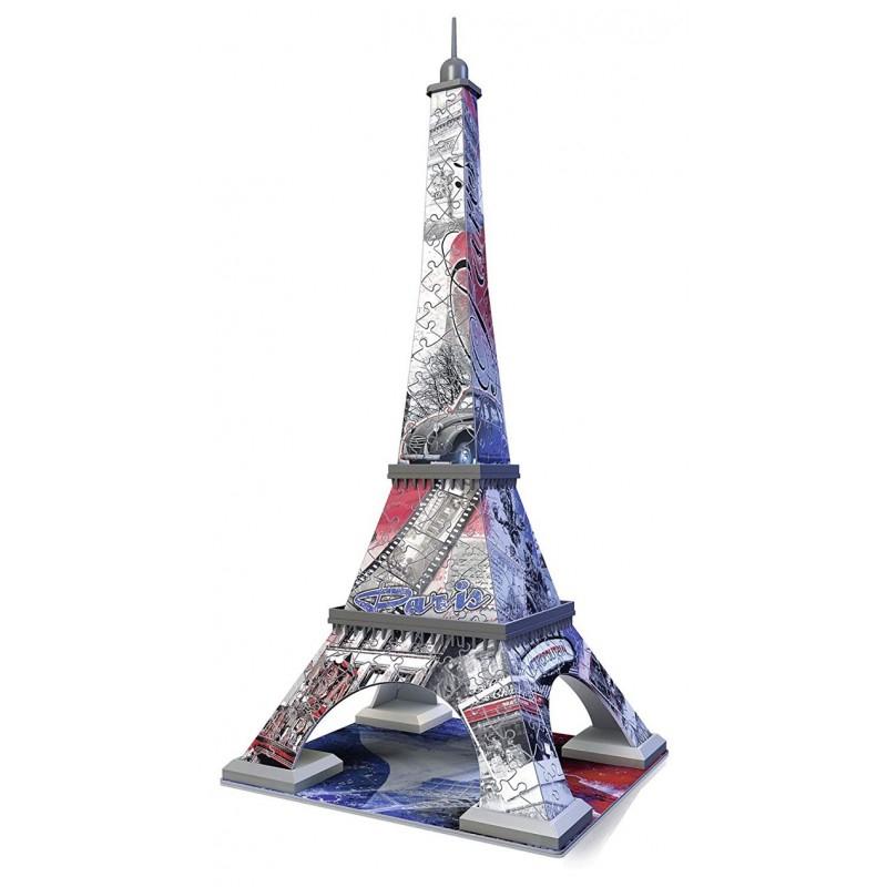 Maqueta Puzzle Torre Eiffel Edición Limitada 3D Puzzle 216 piezas