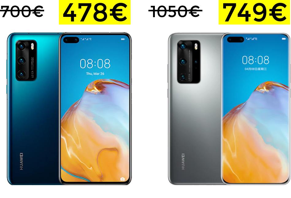 Huawei P40 y Huawei P40 PRO a minimazos (desde España)