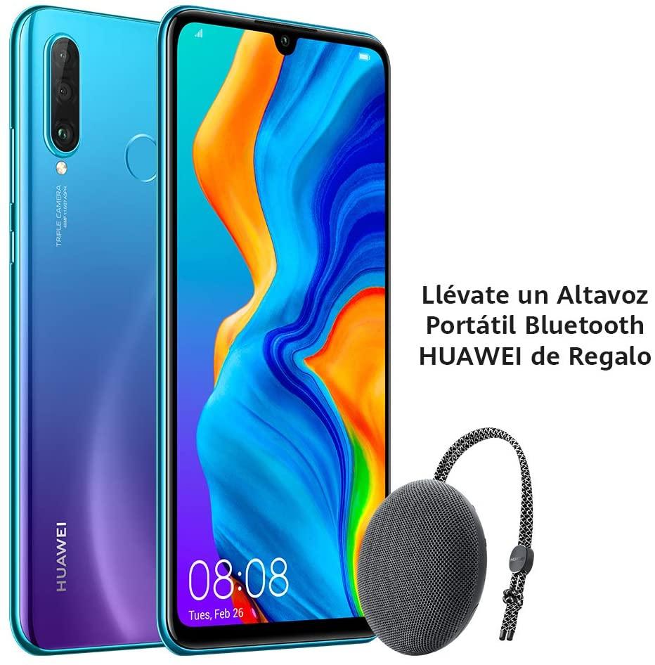 Huawei P30 Lite 6GB 256GB + Altavoz Huawei CM51 - Desde Amazon España