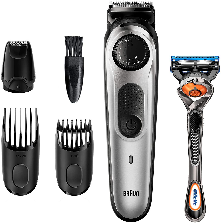 Braun Recortadora de Barba BT5265, Máquina Cortar Pelo, Recortadora de Barba y Cortapelos, para Hombre, 39 Ajustes de Longitud