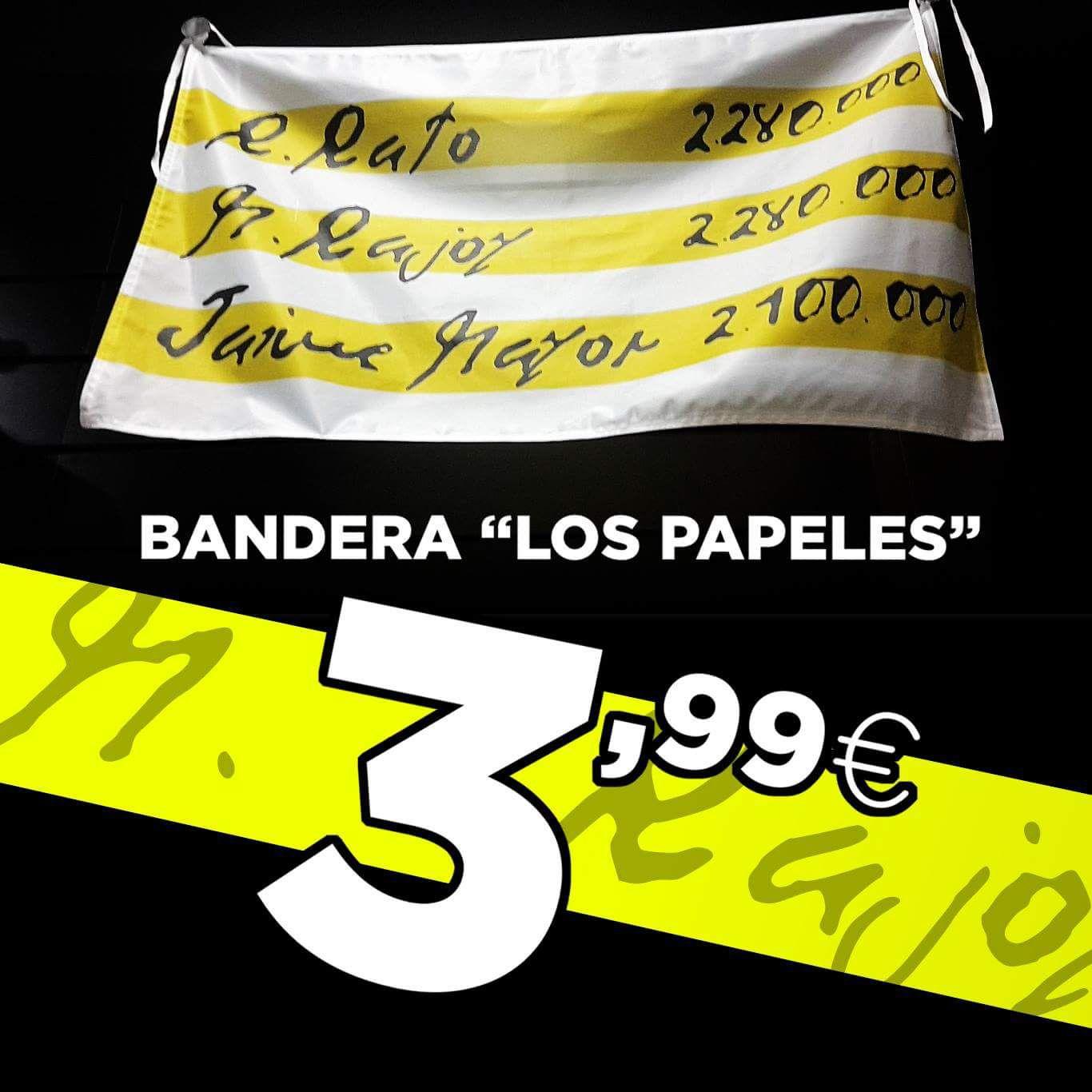 BANDERA TRAPOS SUCIOS