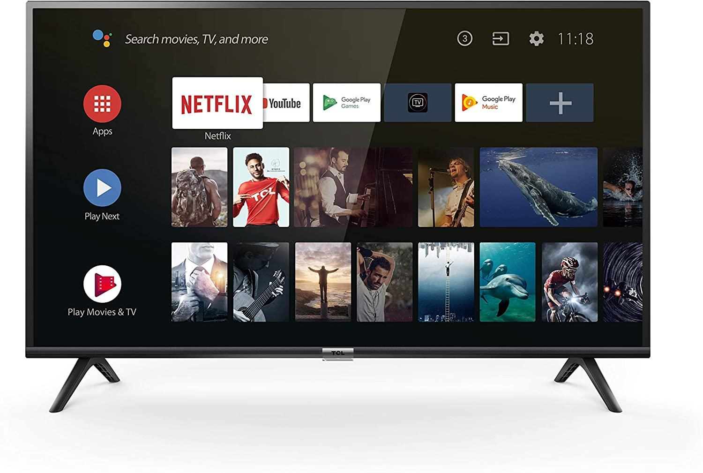 TCL 40ES560 Smart TV de 40 Pulgadas con Full HD, HDMI, USB, WiFi y sintonizador Triple