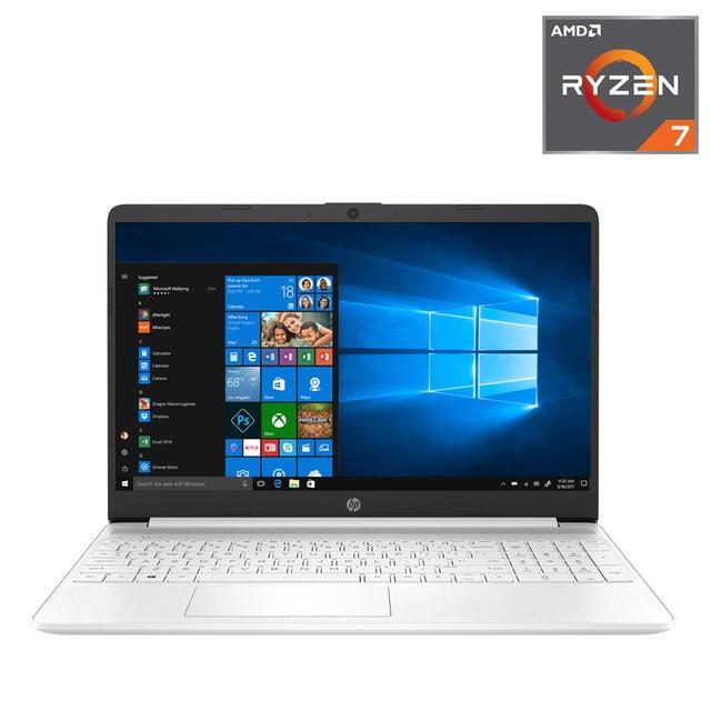 Portátil HP 15s-eq0015ns, Ryzen 7, 8 GB, 512 GB SSD