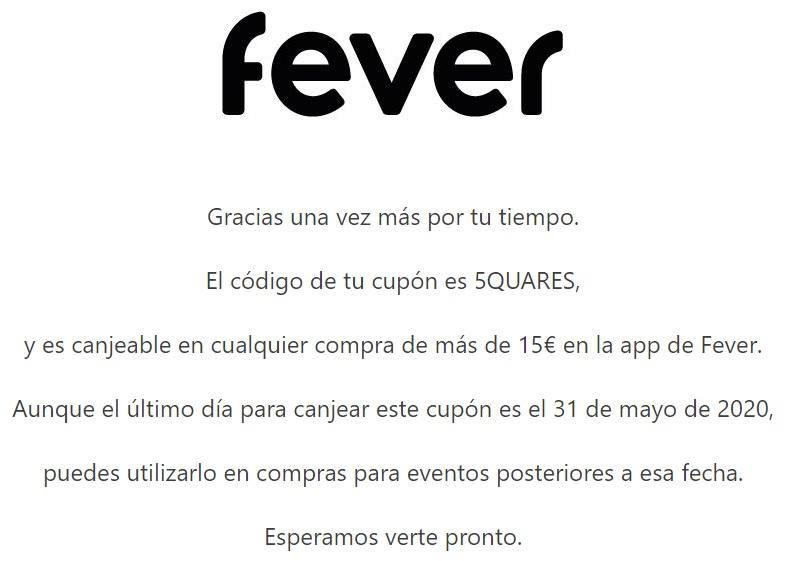 -5€ en FEVER