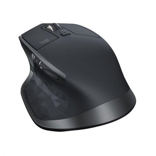 Logitech MX Master 2S Ratón Inalámbrico Negro 1000DPI