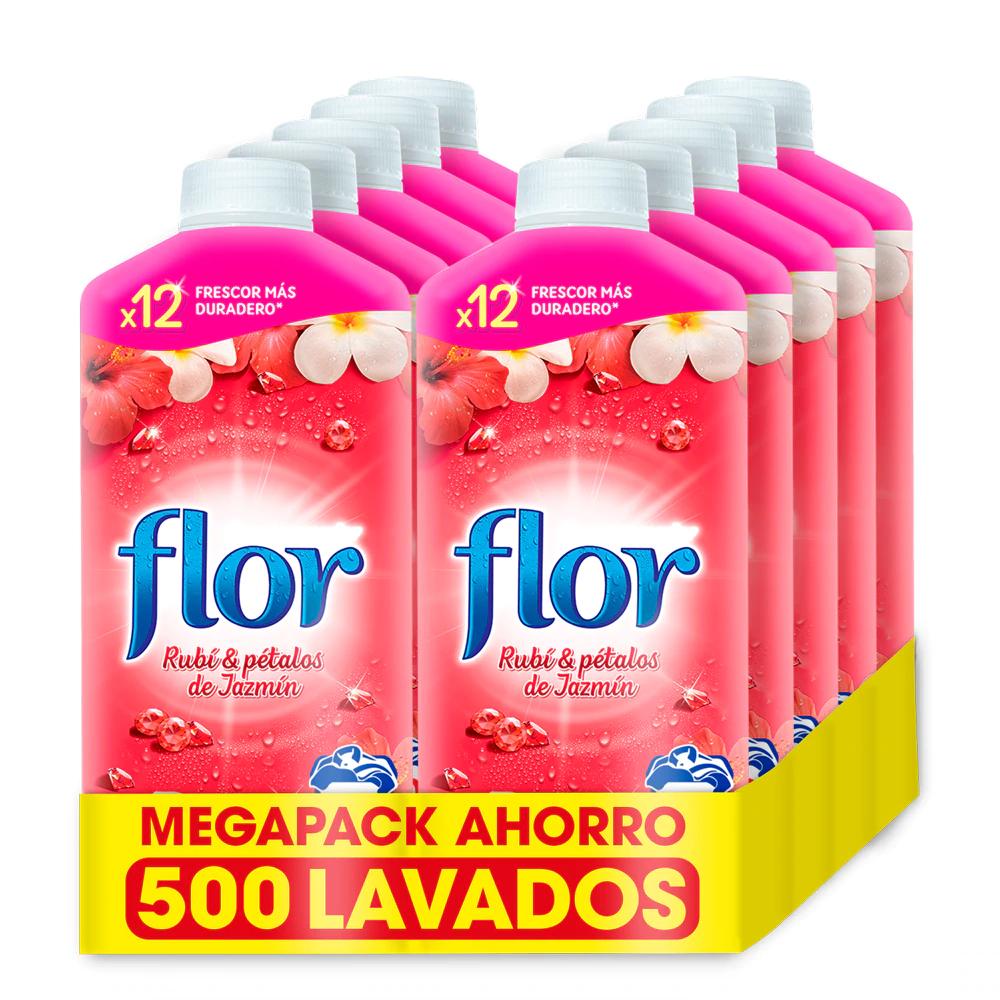 Suavizante Flor 500 lavados desde España