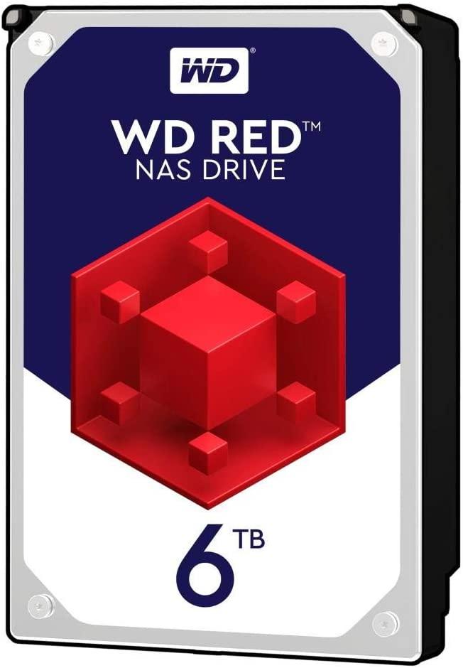 Disco duro para NAS, 6 TB - WD Red