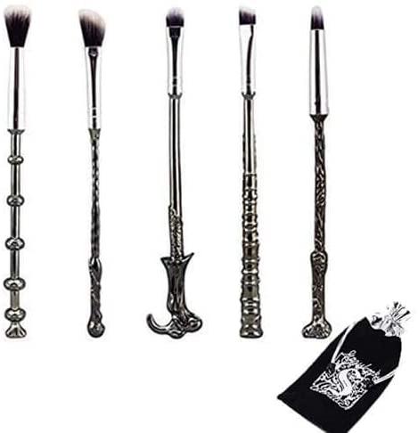 Brochas para maquillaje, estilo Harry Potter