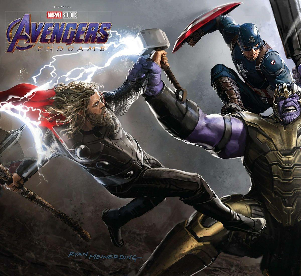 Libro de arte de Avengers: Endgame