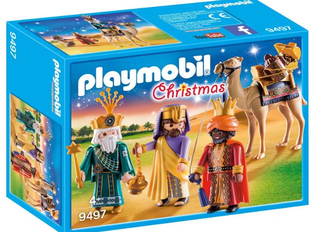 PLAYMOBIL- Reyes Magos Juguete (9497)