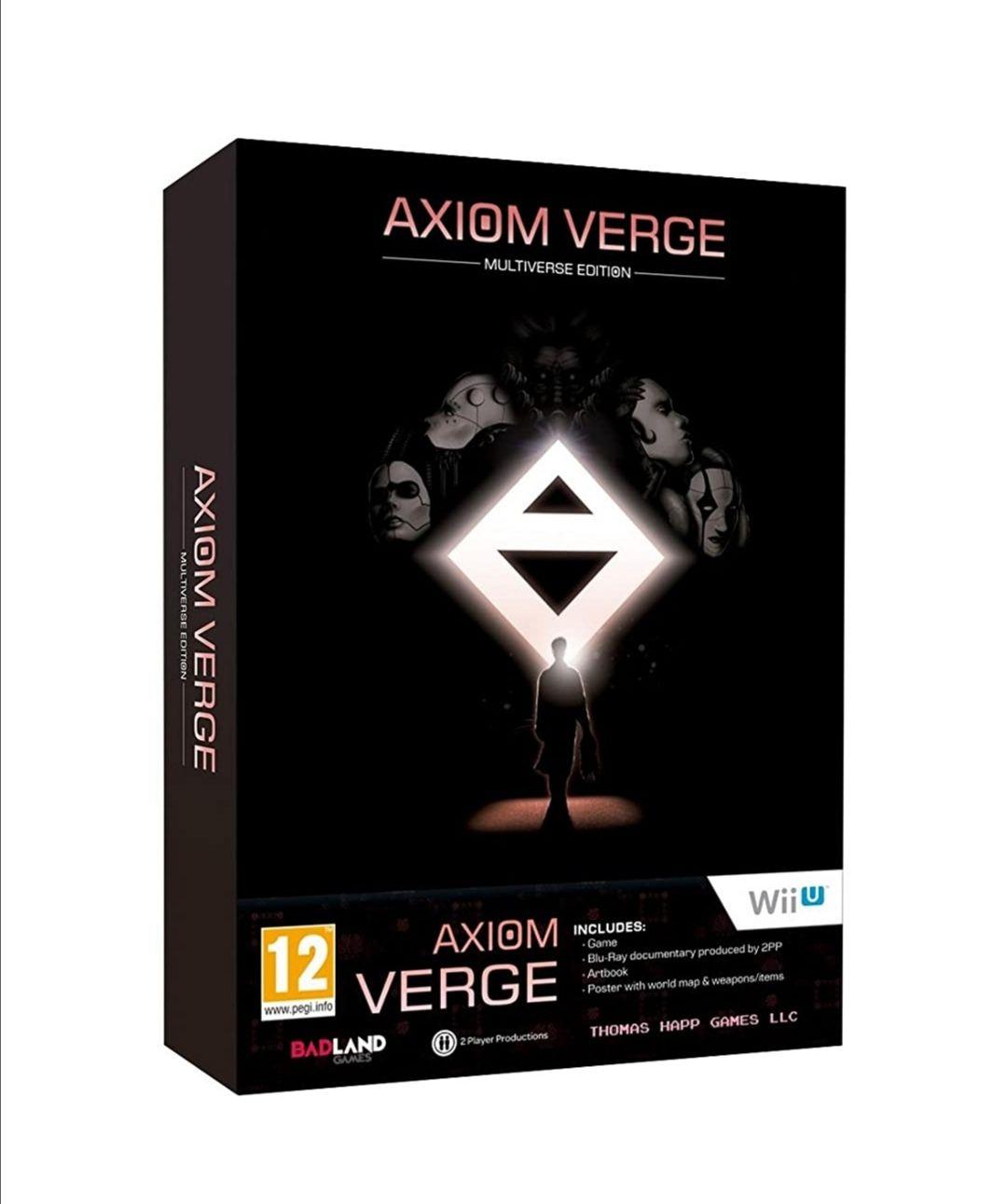 Axiom Verge: Multiverse Edition para Wii U