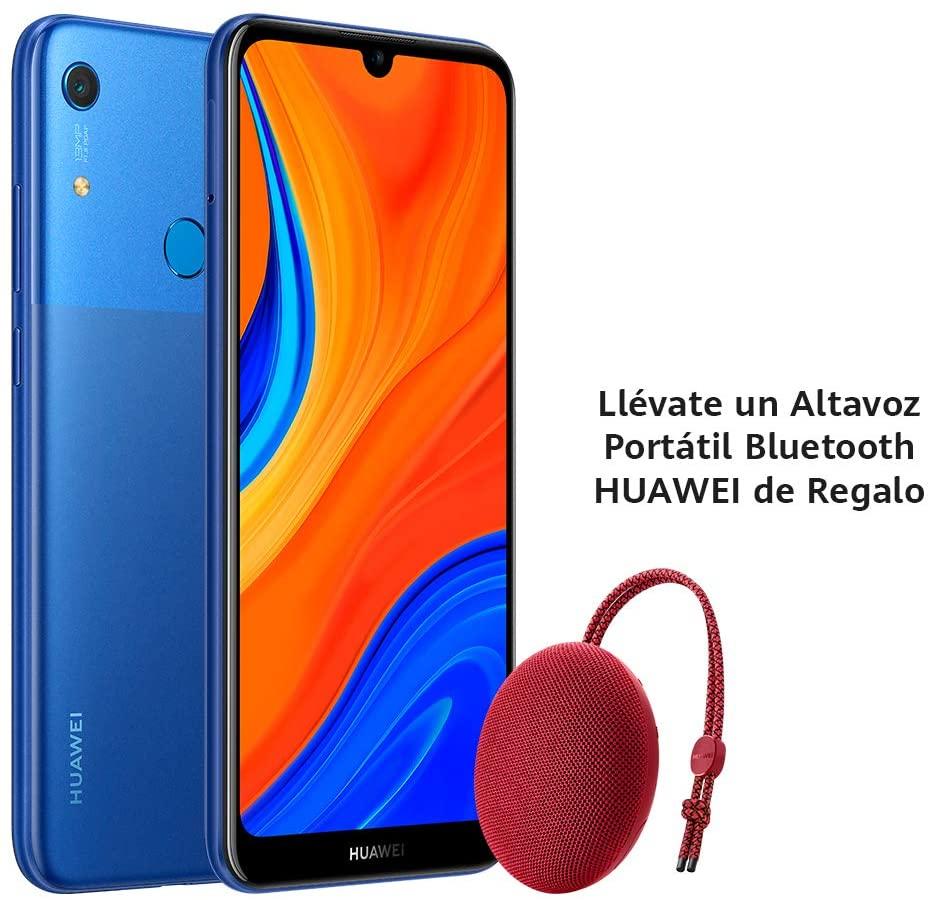 Huawei Y6s + Altavoz Bluetooth CM51 en Rojo