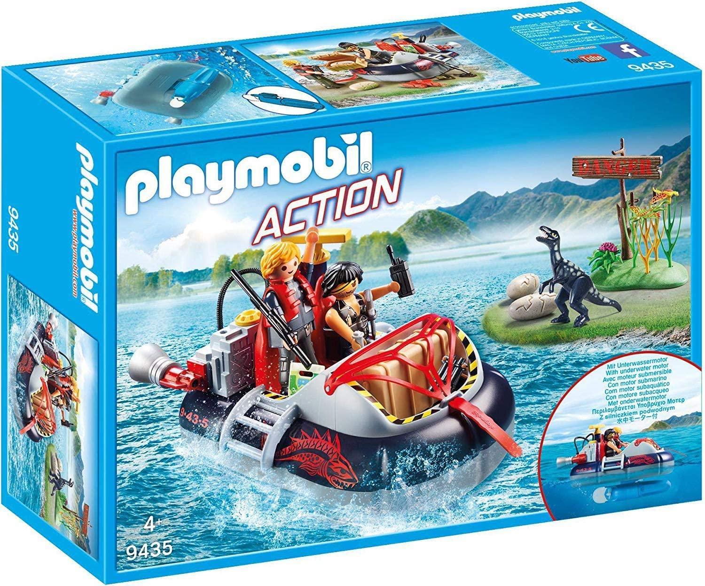 PLAYMOBIL- Aerodeslizador con Motor Submarino Juguete