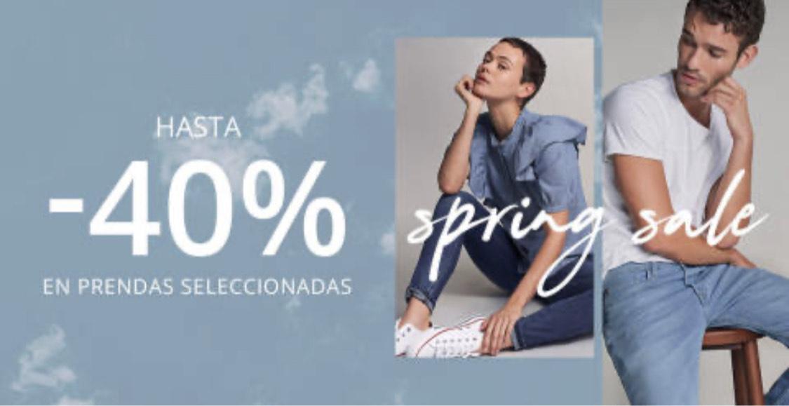 Salsa Jeans: Hasta el 40% en prendas seleccionadas