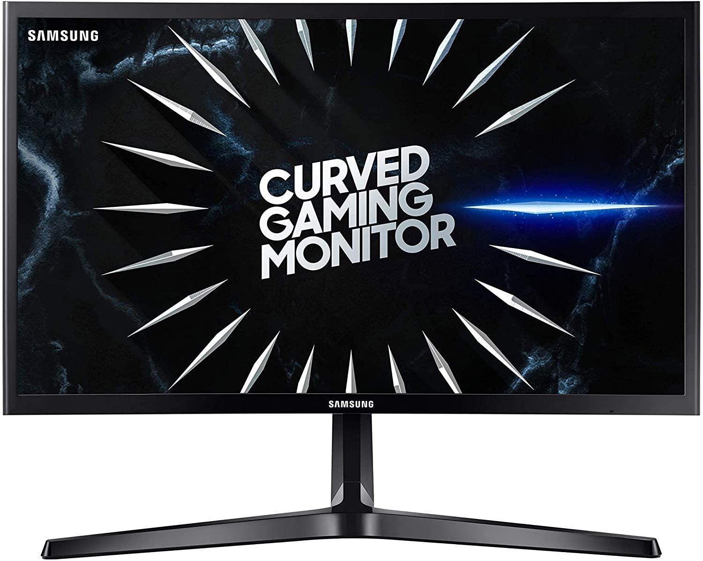 Samsung - Monitor Curvo Gaming de 24'' (Full HD, 4ms, 144 Hz, FreeSync,