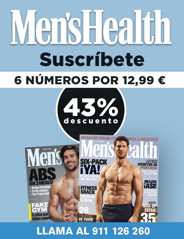 Suscripción revista física Men´s Health