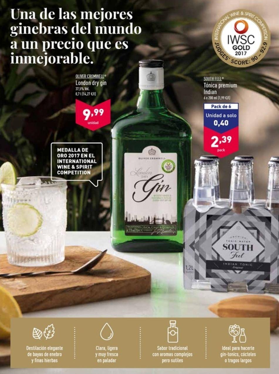 London Dry Gin 0'7l (Premio oro 2017)