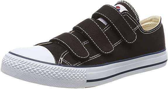 Victoria Tribu Velcros Lona, Zapatillas Unisex Adulto, talla 36, en negro.