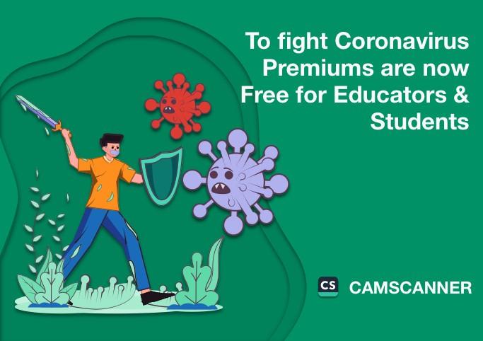 CamScanner Premium: 3 meses GRATIS para estudiantes y profesores por el COVID-19