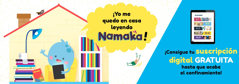 Revista infantil/juvenil namaka gratis hasta acabar la cuarentena