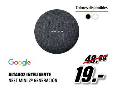 Google Nest Mini a 19€ (A partir de las 22:00)