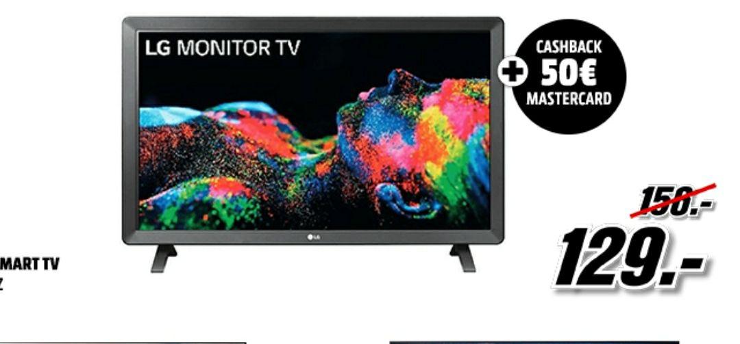 Smart TV LED LG + cashback 50€ Mastercard (A partir de las 22:00)