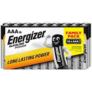 Pack 16 Pilas AAA Energizer Alkaline Power