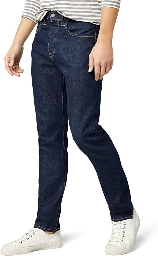 Levi's 501 Tapered - Jeans para Hombre (Talla 28W/32L)